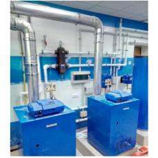 Монтаж отопления в частном доме от ЭкоВодоСистемы